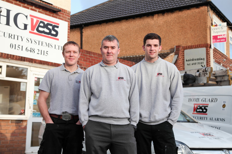 CCTV installations in Caldy
