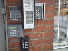 photo of security alarms